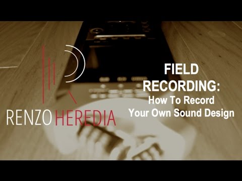 """Field Recording: How To Record Your Own Sound Design"" - April 2017 Meeting"