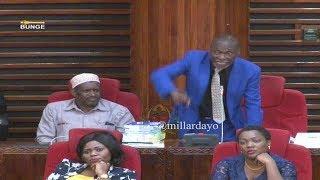 """Vituko vingine vya Mbunge BWEGE bungeni leo, """"tutaandamana"""""""