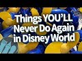 Gambar cover Things YOU Will Never Do Again in Walt Disney World
