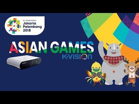 Receiver K-VISION Buat Nonton GRATIS ASIAN GAMES 2018