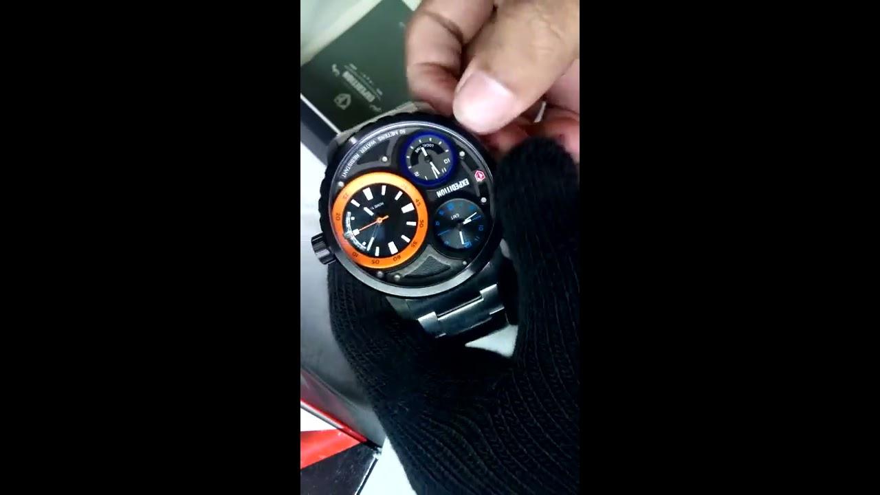 Jual Jam Tangan Expedition 500 Welcome To E6701 Silver Black Men Original Timepiece E6718 Triple Time