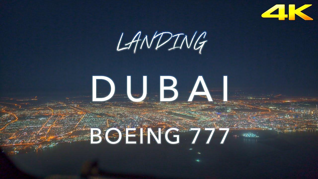 DUBAI | BOEING 777 LANDING