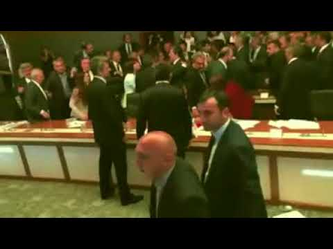 Raw 3A Epic Fight Breaks Out in Turkish Parliament