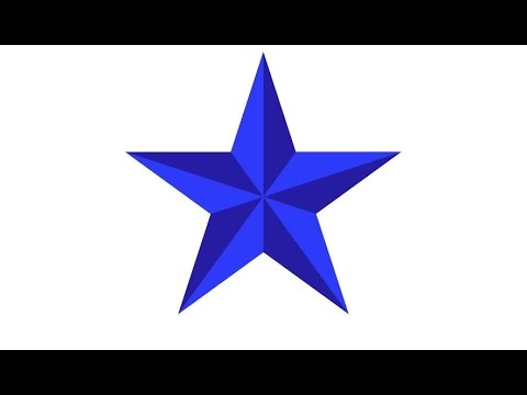 How To Draw A Star In Adobe Illustrator Youtube