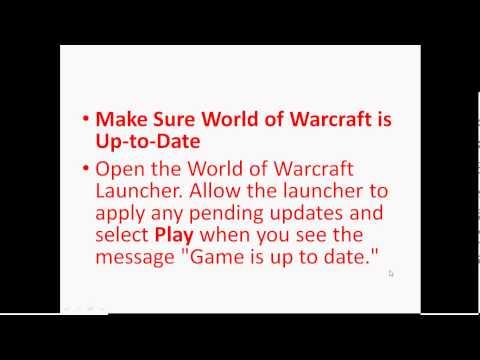 Battle.net Error # 107 - World of Warcraft - Solution