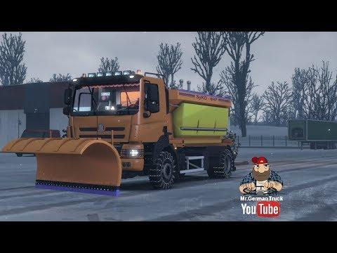 [ETS2 v1.28] Frosty Winter Weather Mod v6.4 + Tatra Snow Truck