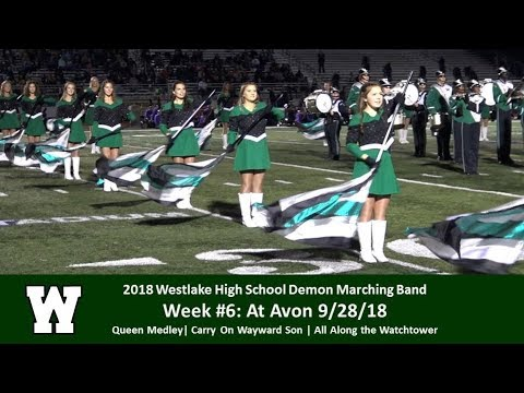 9.28.18 at Avon - WHS Demon Marching Band