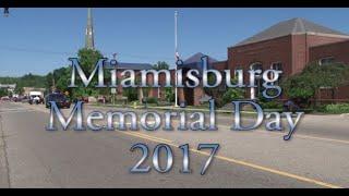 Miamisburg Memorial Day 2017