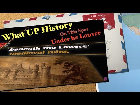 Medieval Castle Ruins / Beneath the Louvre Museum ~ Paris • France
