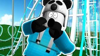 Roblox | MEGA ROLLER COASTER!! | Theme Park Tycoon #8