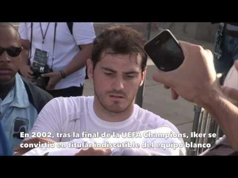 Iker Casillas cumple 36 años