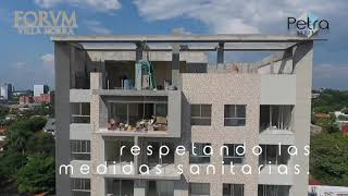 Avance de Obra - Edificio FORVM Villa Morra - Mayo 2020