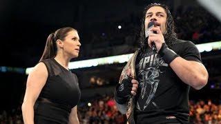 Sasha Banks Roman Reigns vs Charlotte Rusev WWE Monday Night Raw 10 December 2016 (Full
