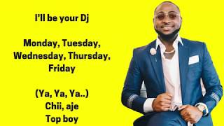 DJ Spinall – Your DJ ft  Davido Lyrics