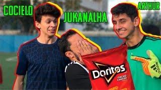 JULIO COCIELO, ARTHUR e JUKANALHA NO DESAFIO DO DORITOS GIGANTE!