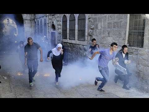 Tensions in Jerusalem during Jewish holiday - no comment