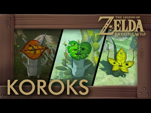 Zelda Breath of the Wild - All Korok Seeds (Lake Tower) Locations #268 - #357