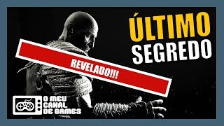 BOMBA!!! ÚLTIMO GRANDE SEGREDO REVELADO E CONFIRMADO!!! [God of War]