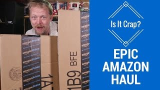 Amazon Shopping Haul Video - (Almost) Everything is under $20 - Is It Crap E4