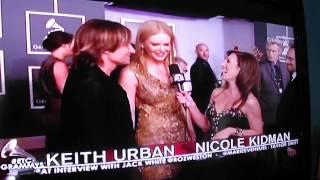 Keith Urban & Nicole Kidman ET Canada Interview Grammy