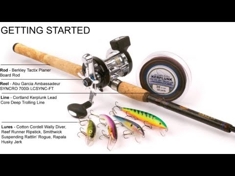 Quick Tutorial - How To Fish Using Sufix Lead Core Fishing Line!