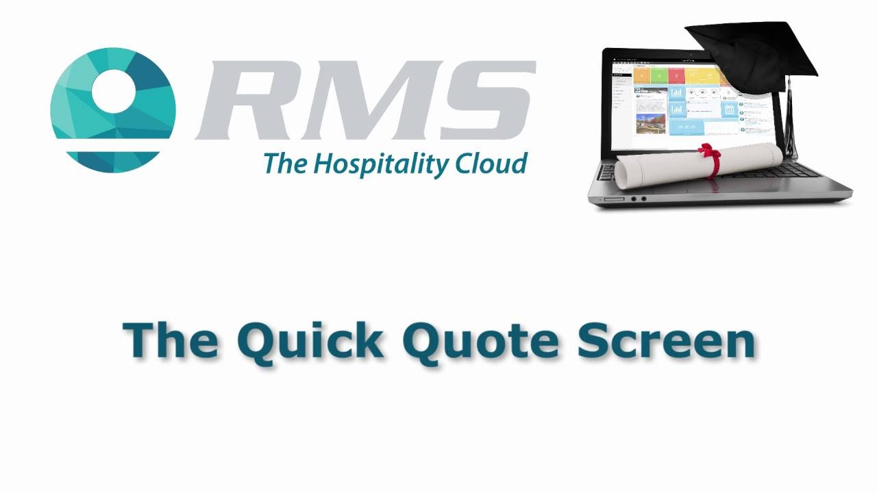 Quick Quote Rms Quick Quote Screen  Youtube