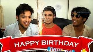 Parth Samthaan Celebrates his Birthday with Co-Stars