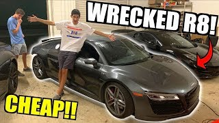Download I Bought a WRECKED Audi R8 V10 From Auction Super CHEAP! Time To Rebuild!! Mp3 and Videos