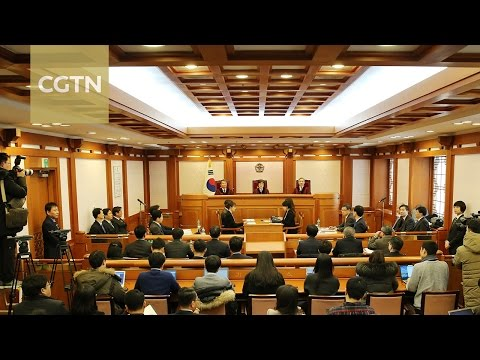 Final hearing begins on South Korean President Park's impeachment case