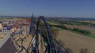 Hyperion Roller Coaster 2018 - Plac Budowy  20.04.2018 r