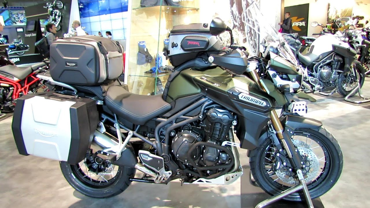 2014 Triumph Tiger Explorer 1200 Xc Walkaround 2013 Eicma Milan Motorcycle Exhibition