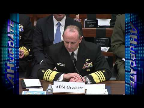 Chief of Naval Operations Addresses House Armed Services Committee