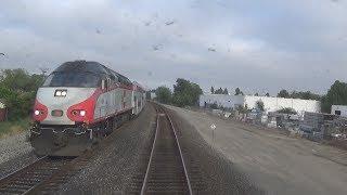 Caltrain Entire Line Ride (Gilroy to San Francisco) - 5/22/17