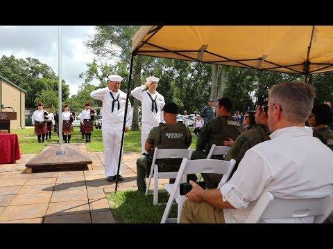 MWD Dingo Memorial Service, June 10, 2017, Jacksonville Pet Funeral Home