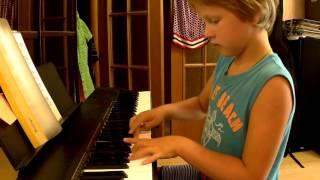 В разлуке Гречанинов фортепиано обучение игры 1 класс музыкальной школы ЯМКА