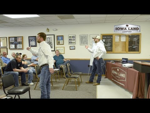 Mitchell County, Iowa 252.74 Acre Land Auction Highlight