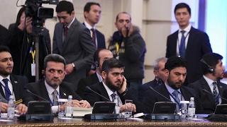 شاهد ماذا فعل الثوار بالدستور الذي كتبته روسيا..وما سر انضمام الأردن لمحادثات أستانا؟-تفاصيل