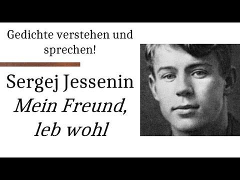 Jessenin Sergej Mein Freund Leb Wohl Gedichte Karaoke 83