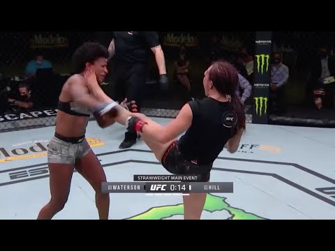 UFC Vegas 10: Waterson vs. Hill / UFC Вегас 10 – Highlights