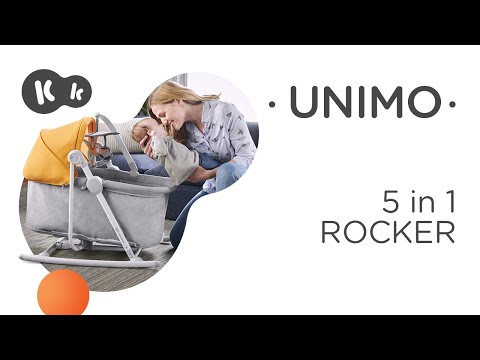 KinderKraft Люлка Unimo 5 в 1 Розова NEW #_s9VcR3vJCY