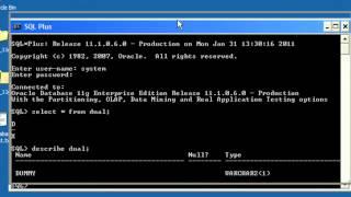 Oracle for Beginners Tutorial 1