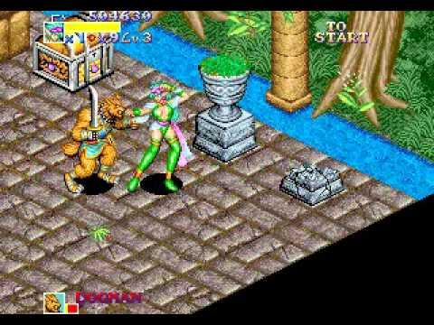 Light Bringer \ Dungeon Magic (ARCADE)