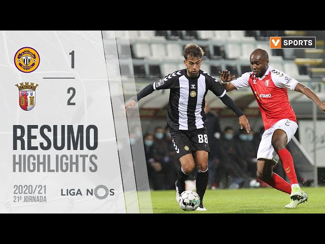 Highlights | Resumo: CD Nacional 1-2 SC Braga (Liga 20/21 #21)