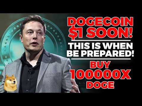 Elon Musk REVEALS Dogecoin Will Be $1 SOON (Do This Now) Dogecoin Price Prediction, Dogecoin - DOGE