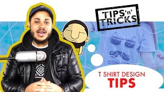 Tips for T Shirt Designs | File Types, Size & Dimension, Font & Typeface Choice, Color...etc