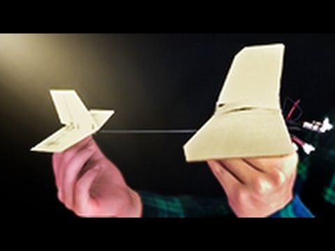 (Crafts) How to Make a Wooden Airplane that Can Really Fly