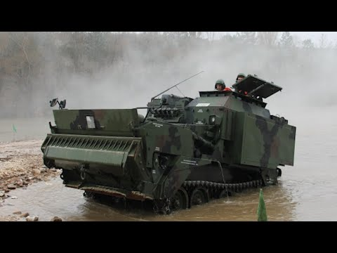 The Amphibian Bulldozer Made In Turkey Was Acquired By The Philippines