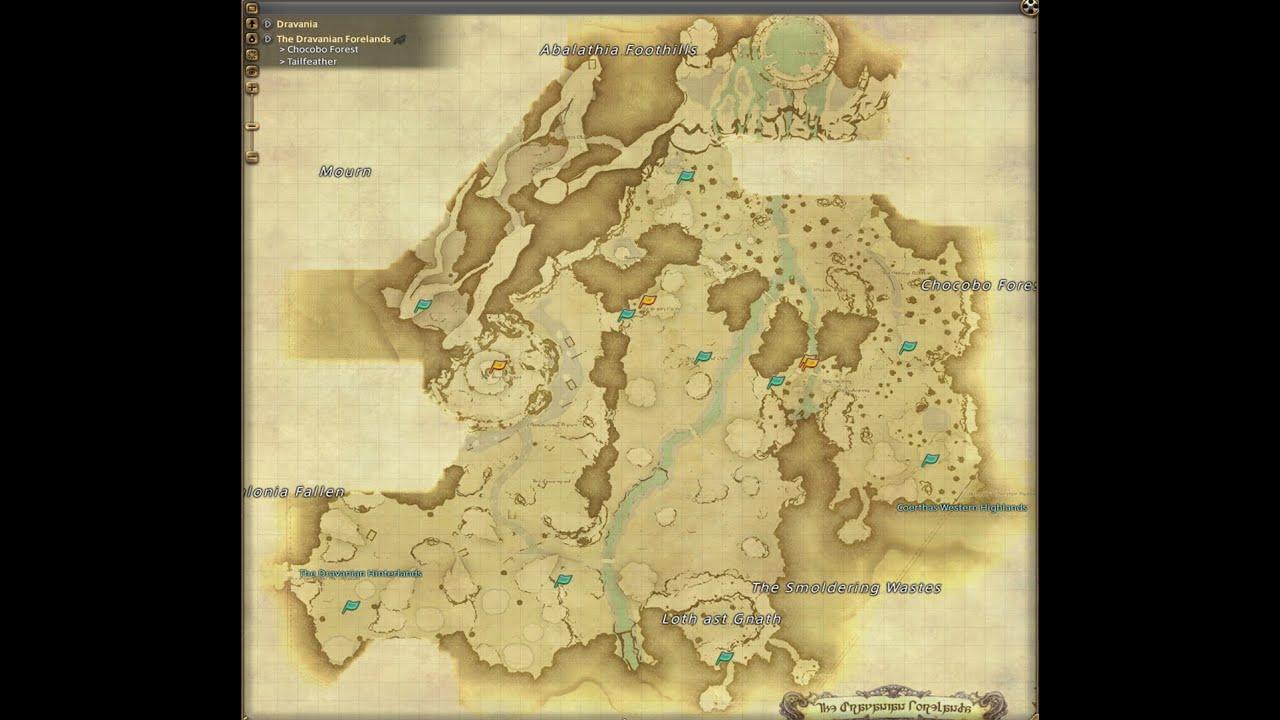 Ffxiv heavenwards coerthas western highlands aether for Ffxiv fishing locations
