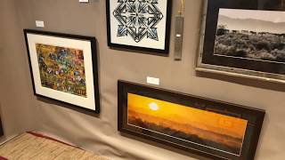 Best Of Show - Paintings Drawings Graphics Photography | Santa Fe Indian Market 2018 Clip 3