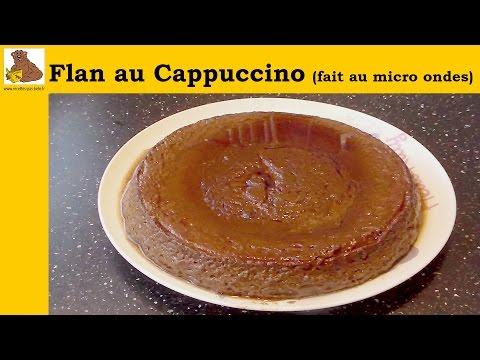 flan-cappuccino-fait-au-micro-ondes---recette-rapide-et-facile